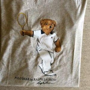Polo bear size medium tennis bear